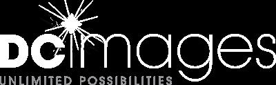 dc images logo white